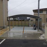目隠しフェンス & 駐車スペースのサムネイル