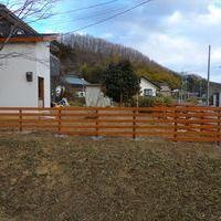 天然木フェンスのサムネイル