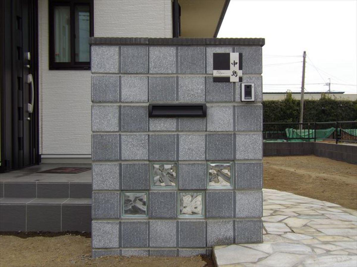 門塀 & アプローチ & ブロック塀フェンス & サイクルポートのサムネイル