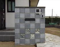 門塀 & アプローチ & ブロック塀フェンス & サイクルポート